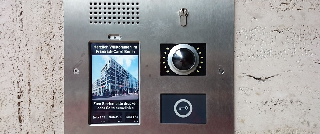 Doorbell parking garage Landpoint Corporate Finance GmbH